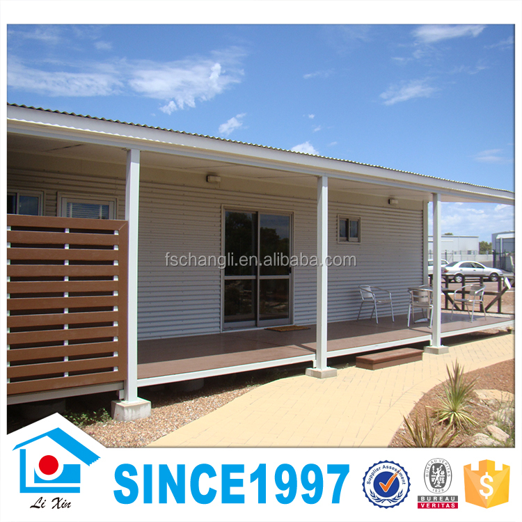 Prefabricated Grill Design Light Steel Structure House