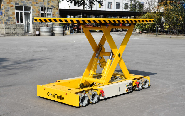 The robot competition all-terrain heavy load Electronics omni directional mecanum wheels platform