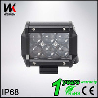 WEIKEN 18w SUV ATV 4x4 jeep off road led lighting 4D led work light