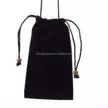 Hot Selling Cotton Carry Soft Drawstring Pouch Bag for ipad mini 8inch