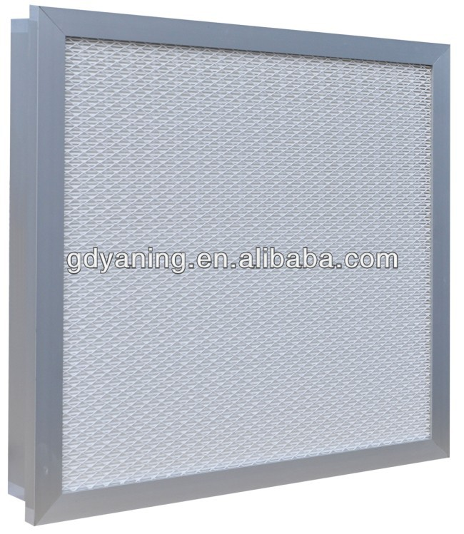 Tank-Style Mini-pleated HEPA filter