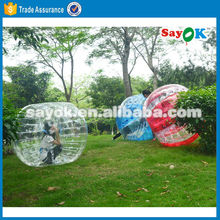 Inflatable Hamster ball for adults/Giant bubble ball/giant human hamster ball for hot sale