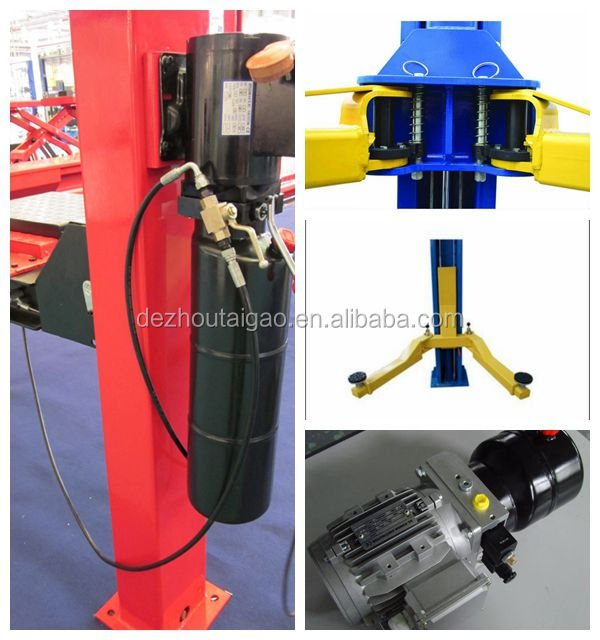 Factory hot sell two post 4 ton hydraulic car lift TG-B4000