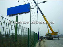 Nice quality low price outdoor advertising steel frame billboard