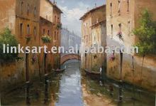 High Quality sea landscape oil painting-Venice Scene Painting