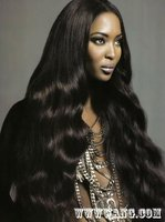 Extra long super wave style 100% human hair full lace wig,silk top available