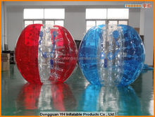 TPU belly bump inflatable ball, inflatable bump ball