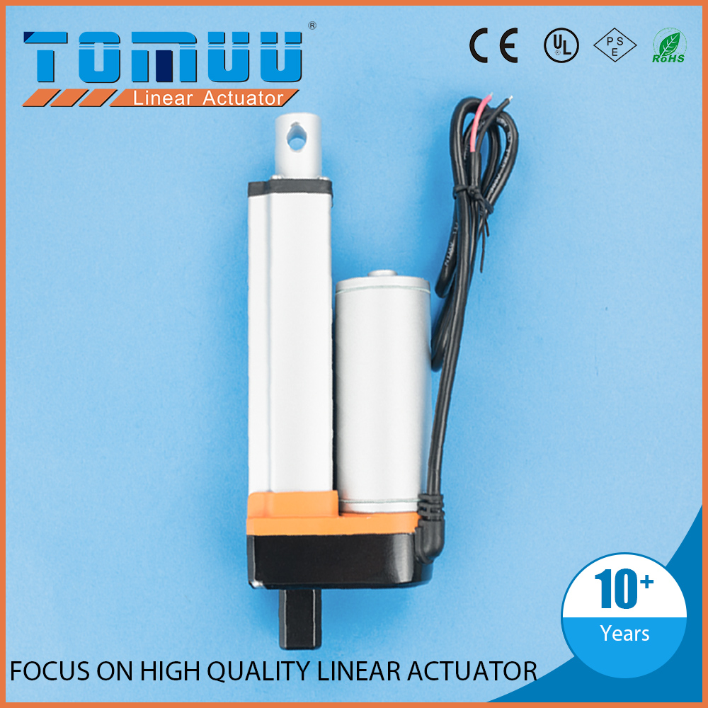 TOMUU customization powerful 12v 24v small electric linear actuator