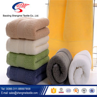 North America most popular satin solid color best towels with border