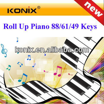 best roll up piano keyboard buy a keyboard roll piano casio 88-key electronic keyboard computer piano
