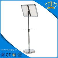 Various shapes Professional plastic easel display stand