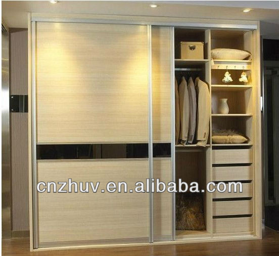 Melamine Wardrobe Classic Bedroom Furniture Cabinets