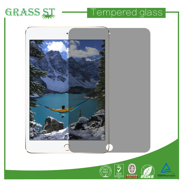 High quality anti-spy screen protector for ipad mini privacy filter