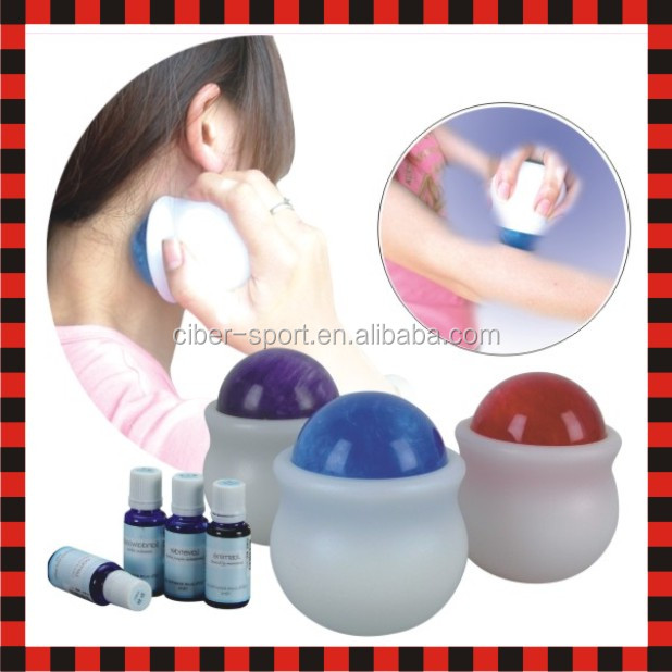 Body massage roller hand face massage tools handle point mini massager