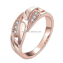 fashion 18 karat gold plated ring wholesale NS-KZCR149