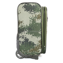 Camo design Oxford fabric waterproof suitcase