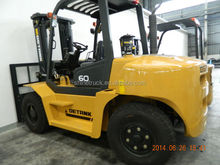 6 Ton Diesel Forklift Truck various attachments optional