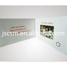 Hot seller! HD LCD screen customized button control support video advertising brochure
