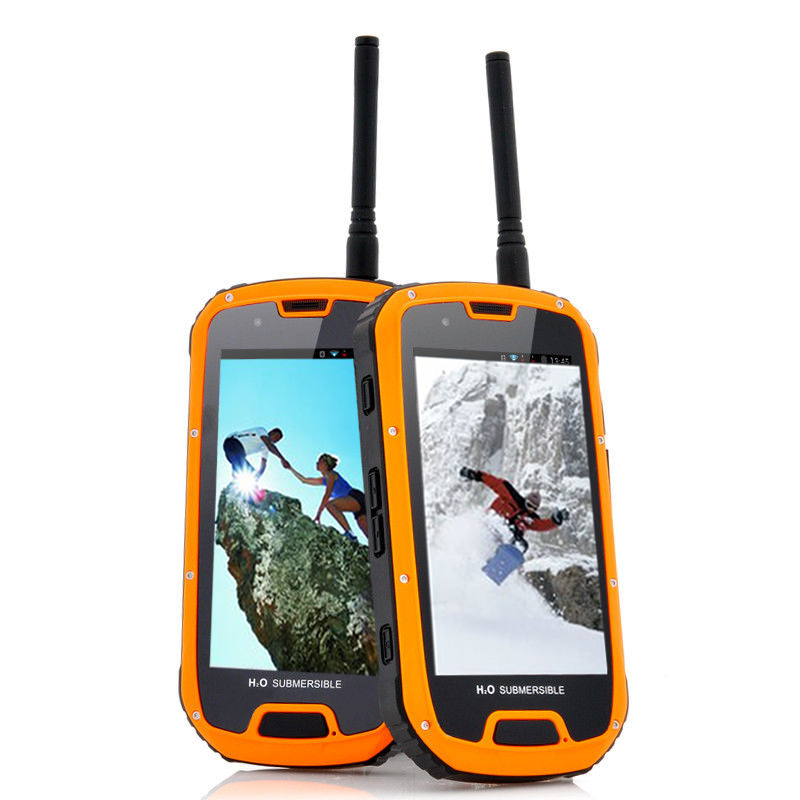4.3inch rugged IP phone 4g rom ip68 waterproof android mobile phone fashion phone pvc waterproof