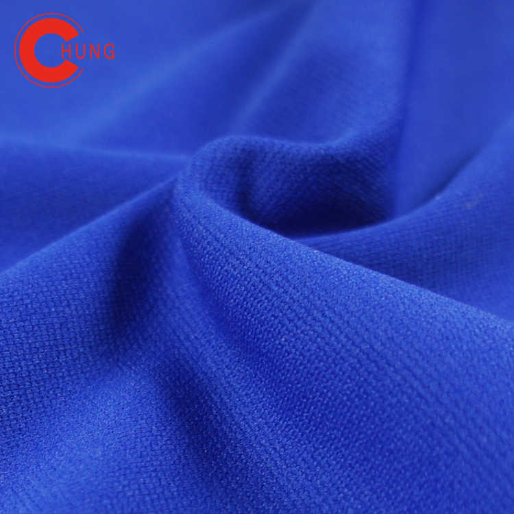 A053 Sports fabrics clothing cloth material polyester fabric Smooth hand feel