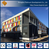Modular Steel Construction by Containers from China