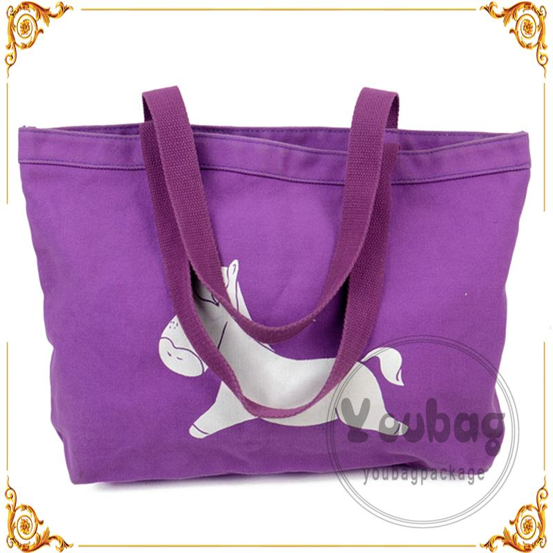 Plastic printable canvas cotton bags with great price