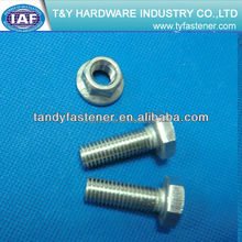 High Temperature Hexagon Head Bolts 316L Stainless Steel