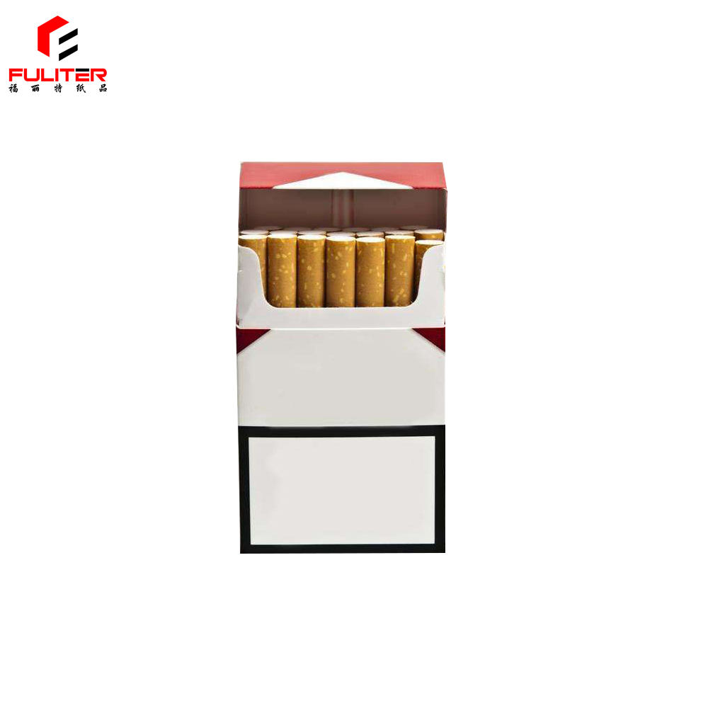 Blank packaging plain paper cigarette boxes blank wholesale