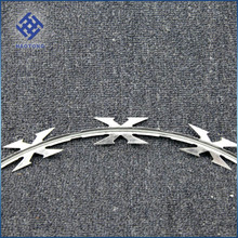 factory supply razor wire/concertina wire/razor wire barbed tape factory