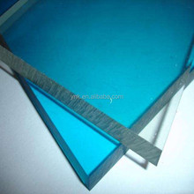 100% virgin bayer material sunshade colored department store pc solid sheet