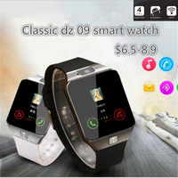 2017 new design china price DZ09 smart watch DZ09 phone a1 for christmas promotion