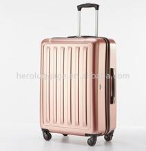 High Fashion suitcase cabin travel luggage with different color