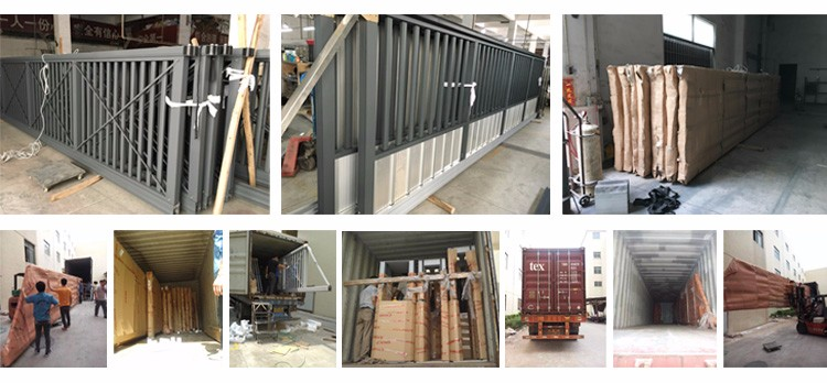 sliding gate packing