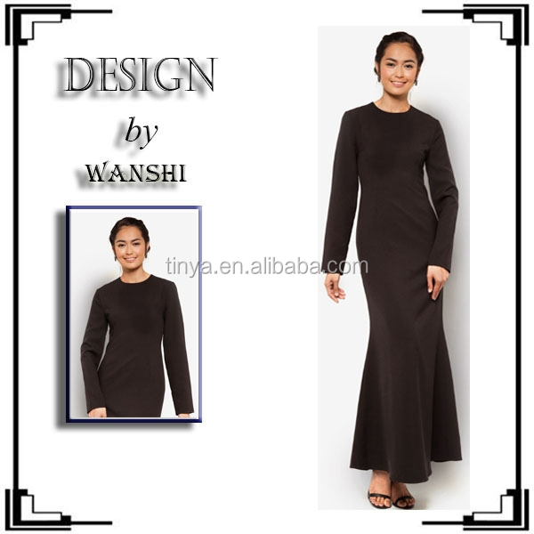 hot sae latest contrast fashion dubai abaya fashion