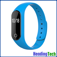 Sports monitor and sleep monitor smart bracelet with CE, ROHS, FCC certification