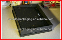 Man bag packing box, single shoulder bag packing box, black man box