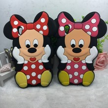 3d cartoon classical Minnie Silicone cell phone case for Sony Xperia z2 l50w