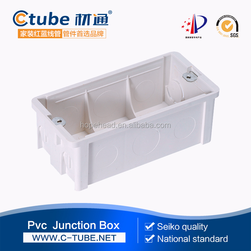PVC main safety electrical junction box switch box