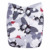 Famicheer New Arrival Print Wholesale Bamboo AIO Modern Cloth Diaper
