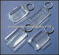Best Promotion Gifts Plastic Key Chain Acrylic key hiolders