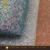 New Holographic pu glitter leatherette fabric