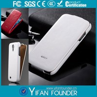 Flip cell phone pu cover for Samsung Galaxy S4 leather case