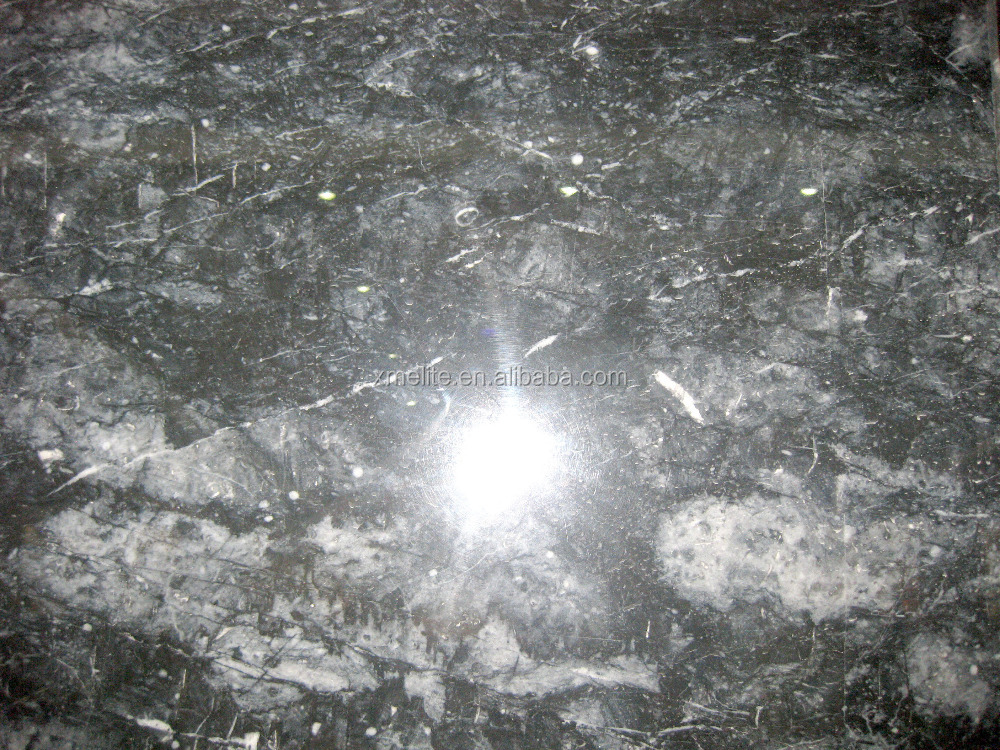 Sea Blue marble stone with white vein tile