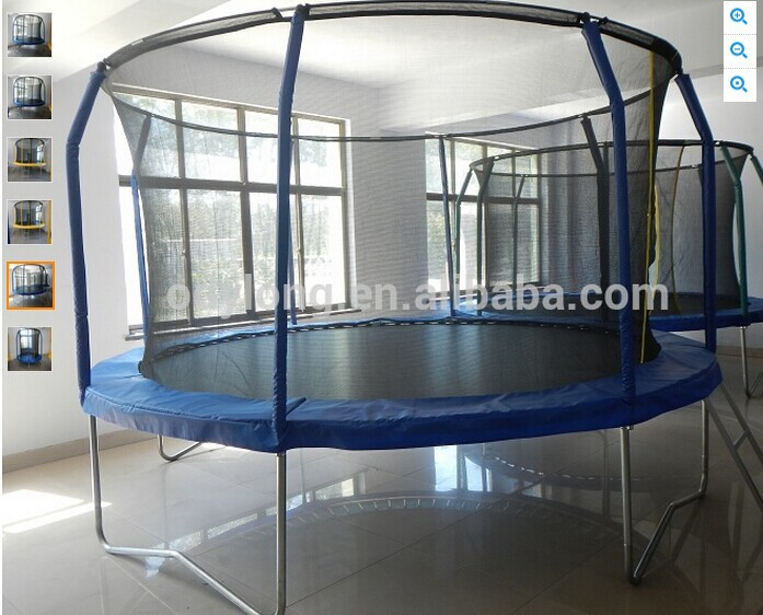 cheap kids indoor 20ft trampoline bed for sale