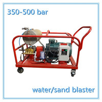 350-500bar electirc gasoline industrial high pressure water. balster pressure wash equipment