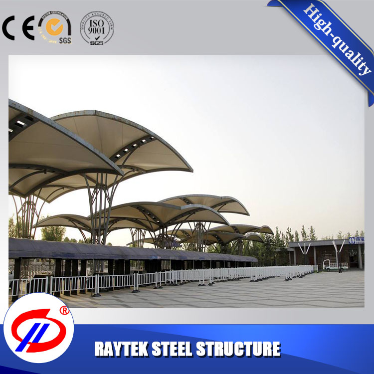 China made membrane structure car garage