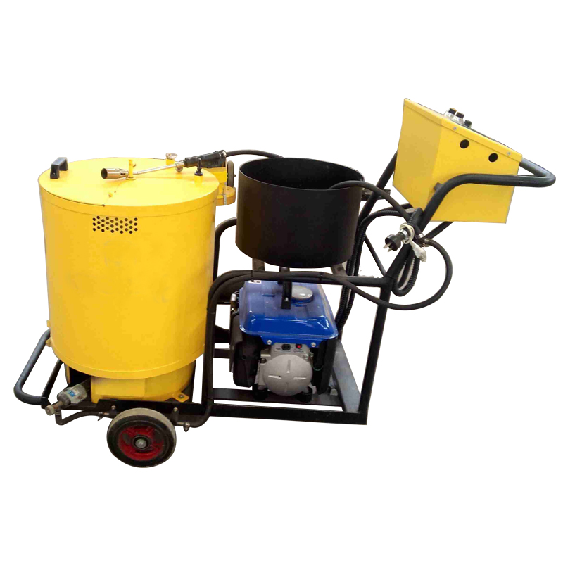 Asphalt crack filling machine with 50L hot melt kettle