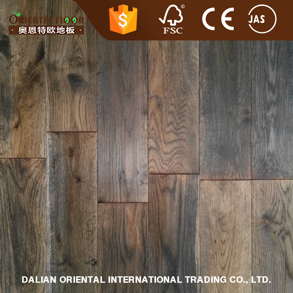 US style and 2016 new color solid oak parquet versaille