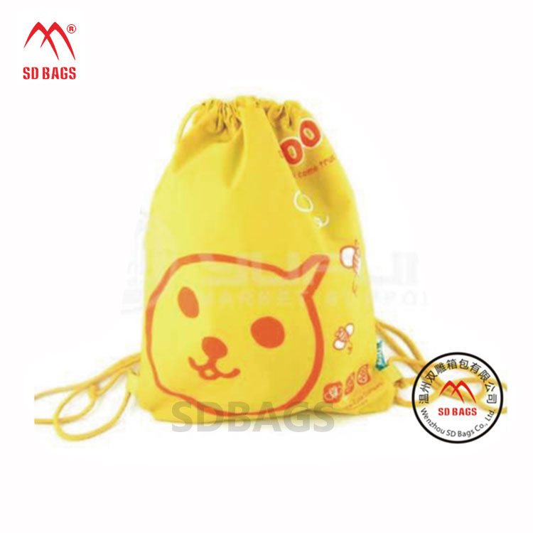 2018 Design fashion style colorful promotional drawstring gift bag, cotton gift bag, gift bag