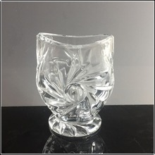 New arrive crystal glass knife and fork flatware holder